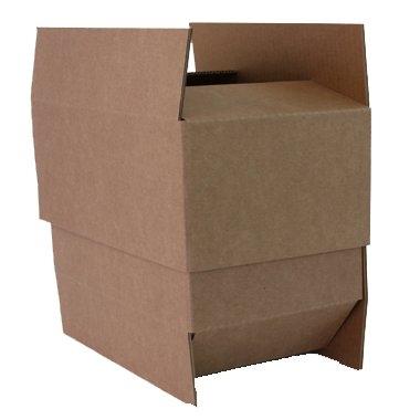 Caisses carton avec fonds et couvercles ou boîtes télescopiques