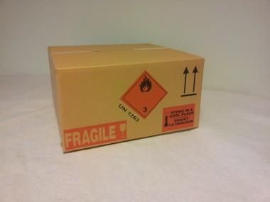 Caisses carton imprimées imp 2cls standard