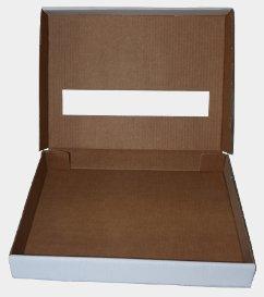 Découpe carton - Boîte-trappe