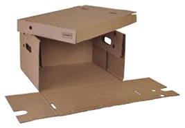 Découpe carton - Boîte couvercle perforée
