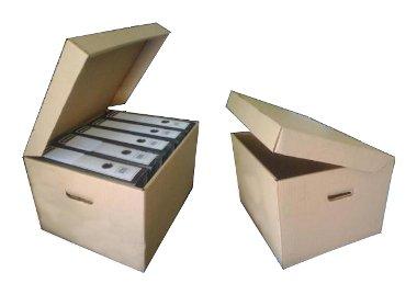 Découpe carton - Caisse archiveur