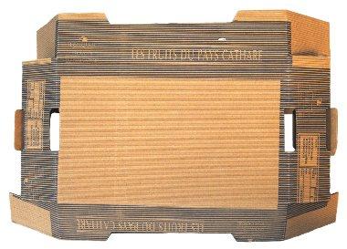 Découpe carton - Impression cannelures
