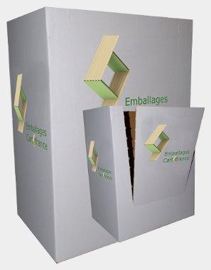 Découpe carton - plv