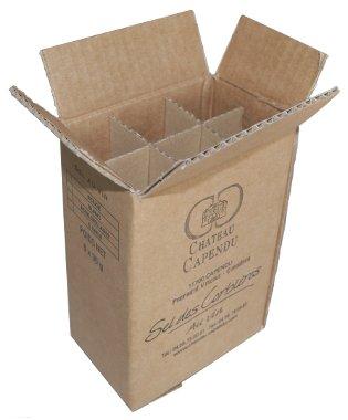 Impression carton - Château Capendu - Sel des Corbières Au vin